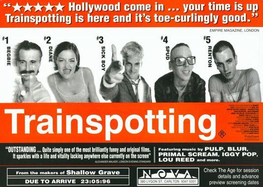Transpotting(1996) by Danny Boyle