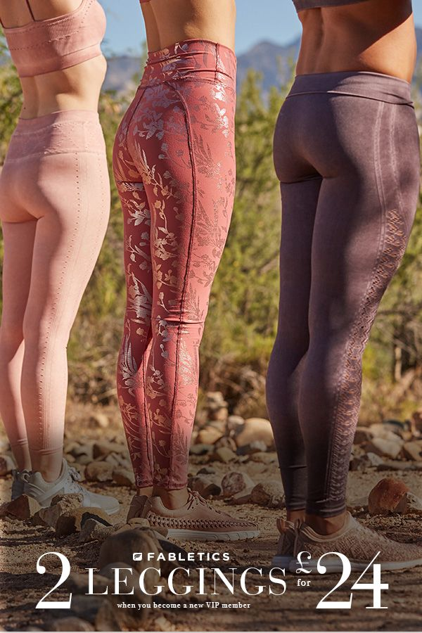Fabletics loves all women, all shapes. Get 2 leggings from 24 pounds from 2XS to 3XL