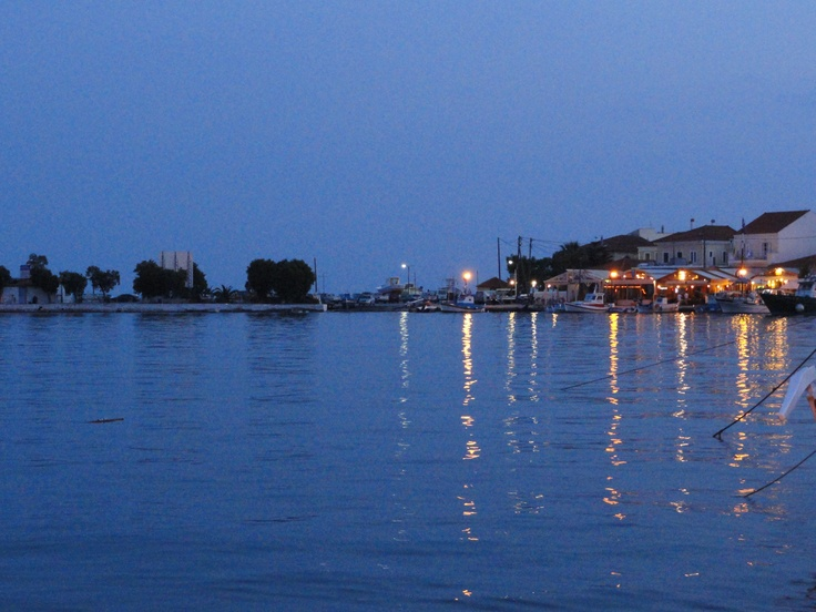 Harbor in Pythagorion, Samos