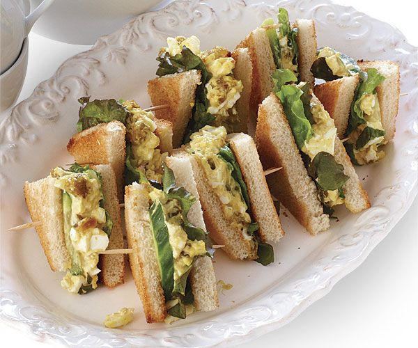 Curried Egg Salad and Cucumber Sandwiches (MADE)