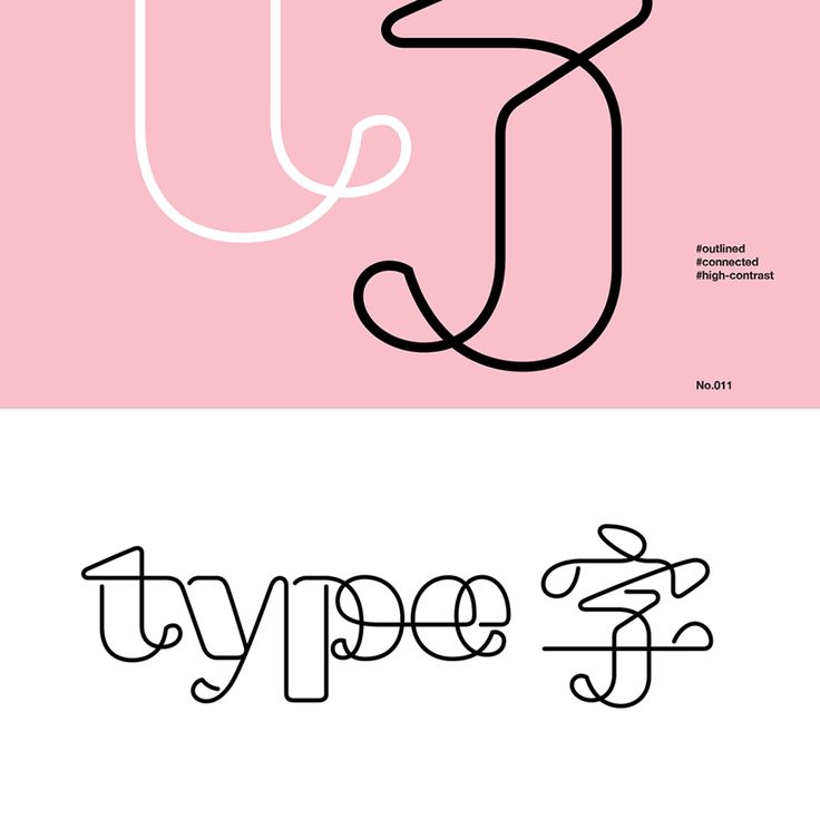 Tien-Min Liao's bilingual lettering project unites the world | Typeroom.eu