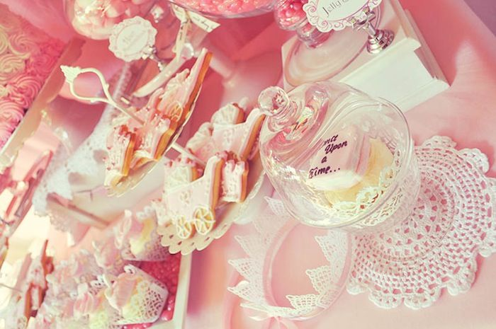 Pink Fairytale Baby Shower {Party Ideas, Decor, Planning, Cake}