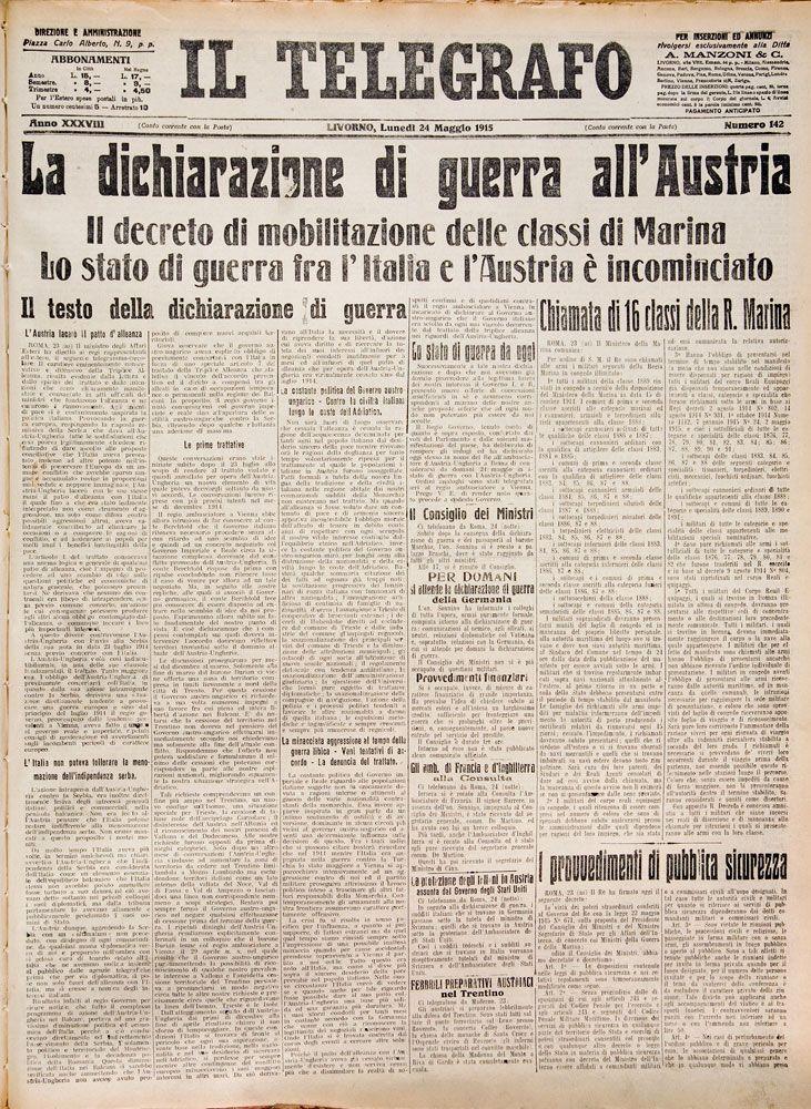 24 maggio 1915