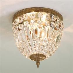 Vintage light fixture awesome for my walk-in closet or small space!