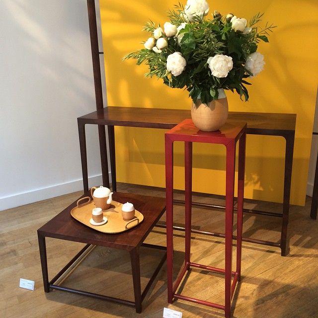 Shang Xia au showroom #silverauniversité #Paris #ddays #ddays2015 #design #jasmin #silveraactu #mobilier #shangxia