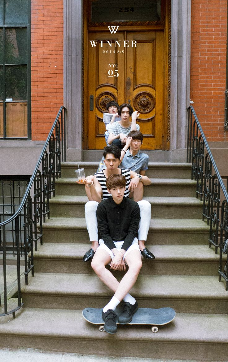 "WINNER Releases Last Set of Photos from ""New York Week"" | Soompi"