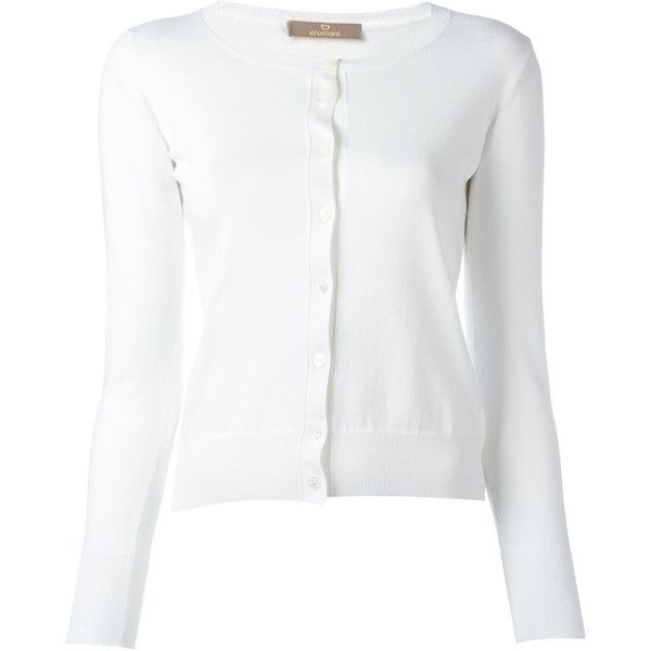 White Cardigan Cotton 68