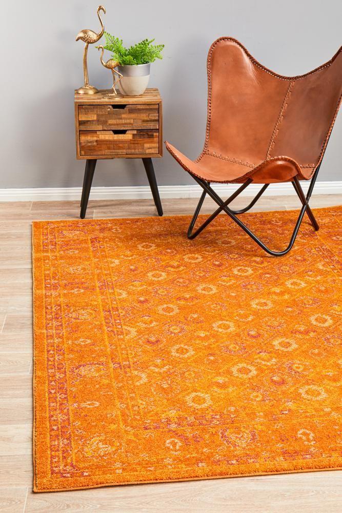 Blaze Burnt Orange Rug Orange Rugs Rugs On Carpet Rugs Online