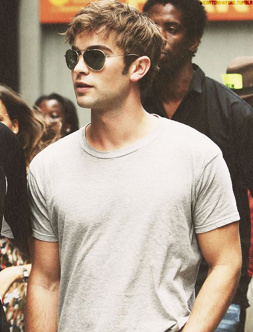 Chace Crawford should be cast as Christian Grey