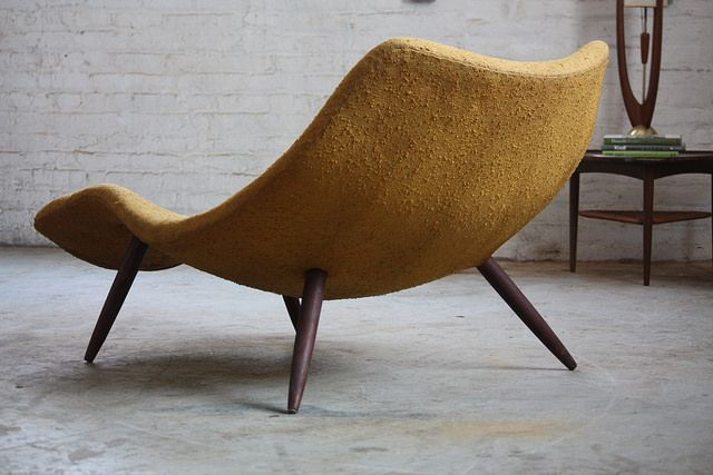 164 best mid century furniture images on pinterest mid for Big and tall chaise lounge