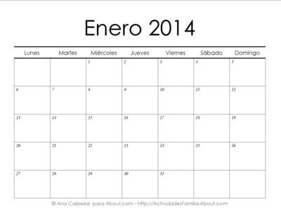 Calendarios 2014 simples para imprimir> Enero #Calendario #Imprimir #Imprimible #Printable: Printable, Home, Calendario Imprimir, Simple To, Ideas Para, Enero Calendario, Calendarios 2014