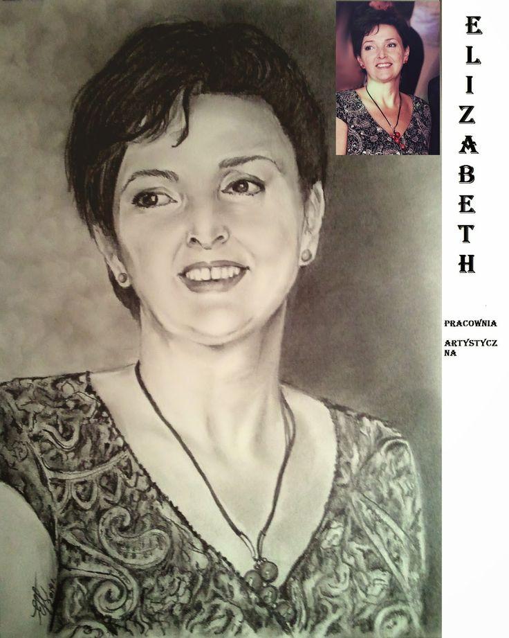 ELIZABETH - pracownia artystyczna: SZKICE OŁÓWKIEM, WĘGLEM, PĘDZLEM SUCHYM ...