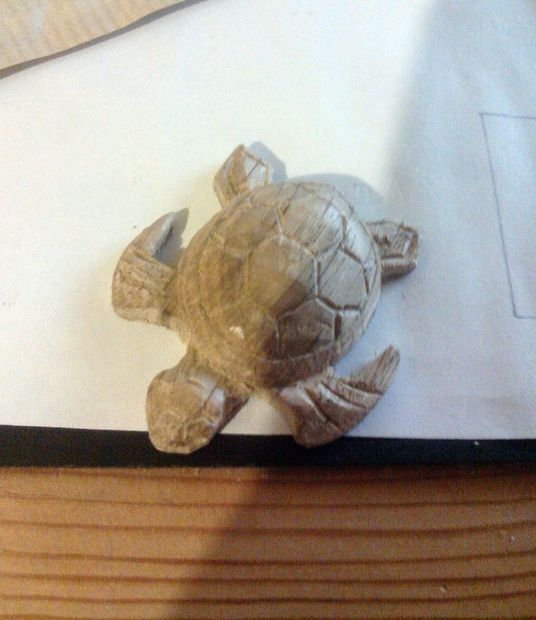Easy Carved Wooden Turtle Diy