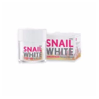 ราคาถูก  Snail White Concentrate Facial Cream 50 ml.  ราคาเพียง  859 บาท  เท่านั้น คุณสมบัติ มีดังนี้ -ครีมบำรุงผิวหน้าสูตรเข้มข้น & & & & && & & & & & & &-มีสารสกัดจากเมือกหอยทาก & & & & && & & & & & & &-ช่วยฟื้นบำรุงผิวหน้าให้กระจ่างใส & & & && & & & & & &--ปรับผิวให้เรียบเนียน & & & & & && & & & & & & & && &-ทำให้ผิวชุ่มชื่น ดูเอิบอิ่ม&