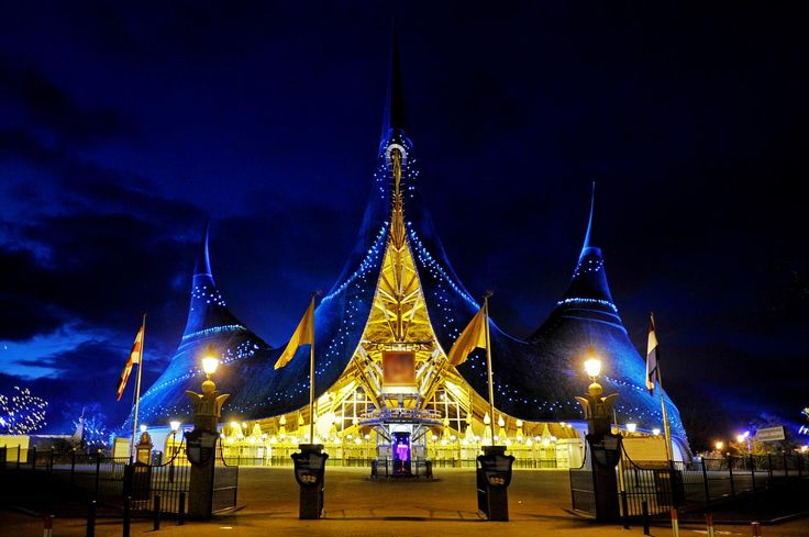 efteling - magical themepark in the Netherlands