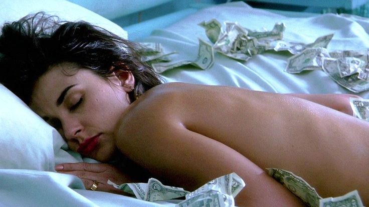 "Demi Moore post-proposal in ""Indecent Proposal"""