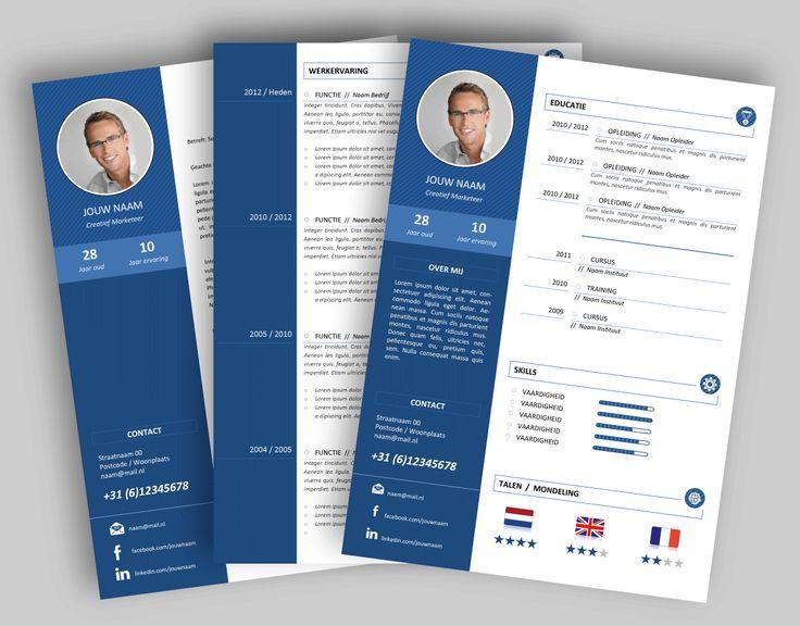 CV template 3205. Laat de lay-out van je CV pimpen en eventueel de tekst optimaliseren. www.mooicv.nl