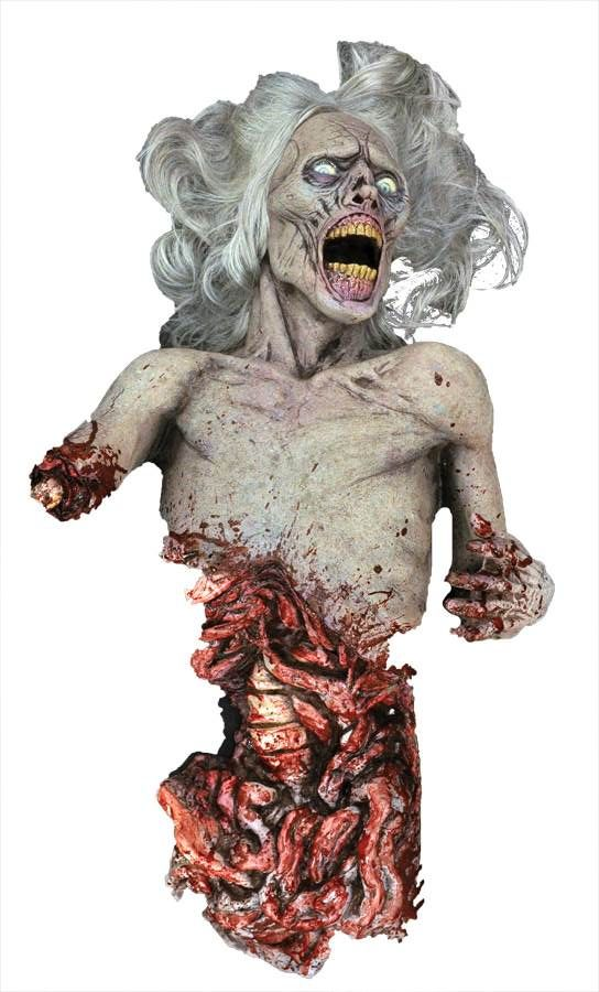 scary halloween props and deluxe halloween props are our specialty from life size animated props of zombies clowns and witches right down to spiders and - Scary Halloween Props
