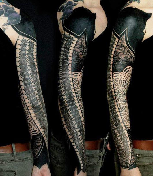 Tattoo Artist - Gerhard Wiesbeck   www.worldtattoogallery.com/sleeve_tattoos