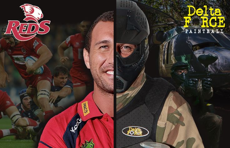 St. George Queensland Reds Pre-Season Starts with Paintball Team Building. #paintball #paintballing #deltaforcepaintball