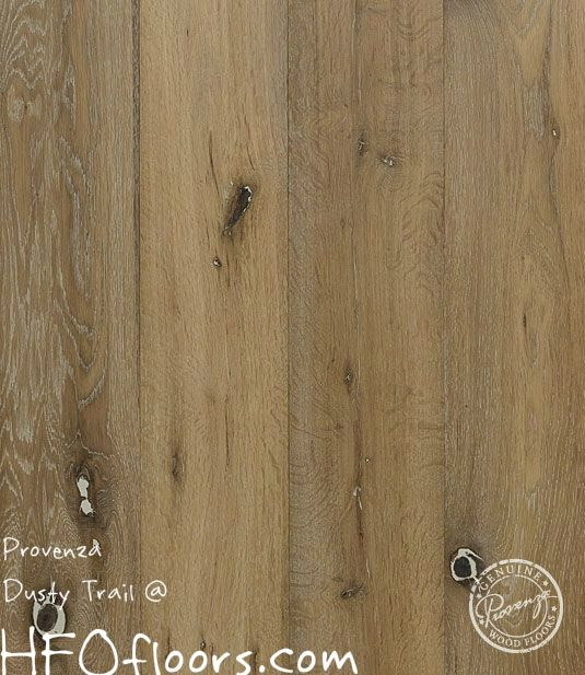 Show Details For Provenza Old World Siberian Oak Dusty Trail   Light  Brown/yellow Hardwood, Wide Plank, Wire Brushed