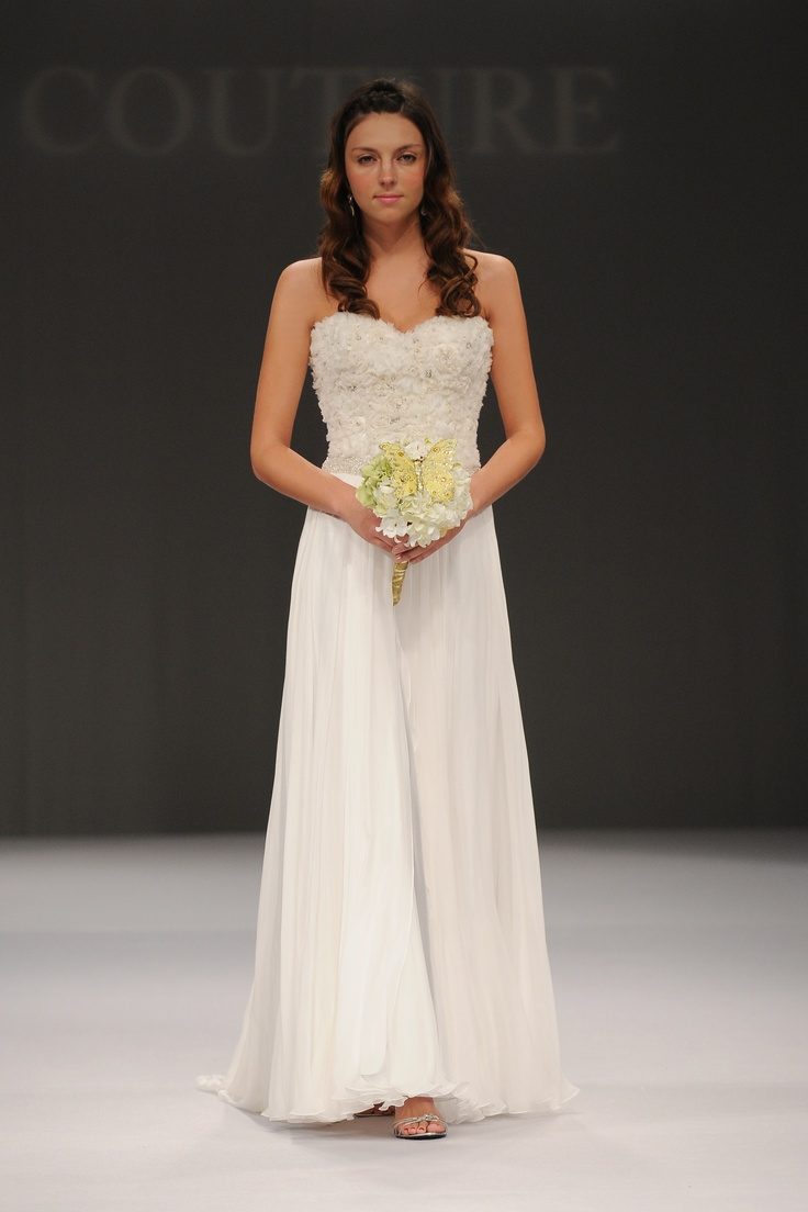 Couture Wedding Dresses Houston Tx : Winnie couture s wedding gown being showcased during new york bridal