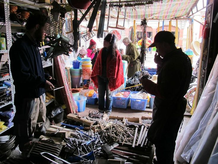 Chinese tool shop in Manigango