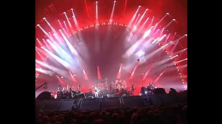 Pink Floyd HD   On the Run-Sorrow   1994 Concert Earls Court London