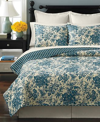 Martha Stewart Collection Woodland Toile Quilts