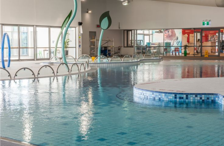 Tiled kids swimming area