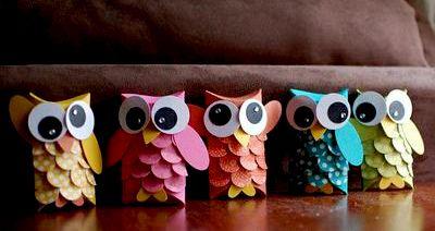 Riciclo creativo dei rotoli di carta igienica | La Figurina