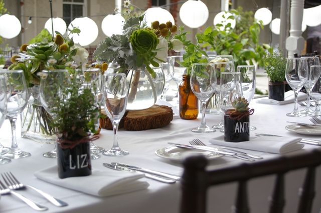 growing wedding favours