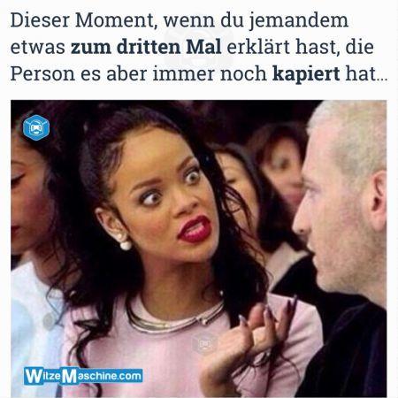 Dieser Moment wenn Witze - Jemand etwas nicht kapiert - Rihanna Fail