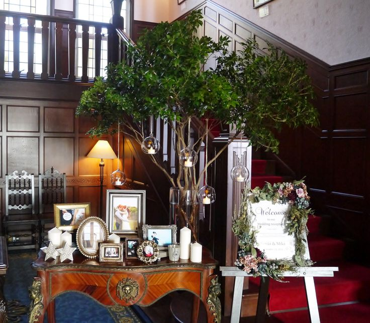 #james-tei#novarese#vressetrose #wedding #vintage#tgreencoordinate#table#natural #Flower #Bridal #ジェームス邸#ノバレーゼ# ブレスエットロゼ #ウエディング#ビンテージ#シンプル #エントランス#グリーンコーディネート #ナチュラル#ブライダル#結婚式
