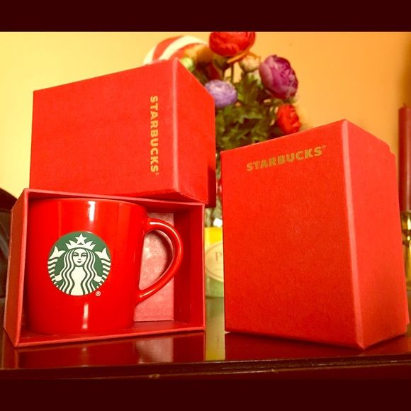 Two Starbucks Espresso Shot Glasses Two cups brand new in box never used ☕️ Other