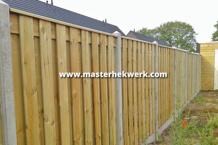 Houten Hekwerk Tuin : Achtertuin houten hek beste ideen over voortuin hek op