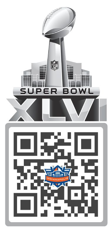 The Super Bowl Sunday QR Code!