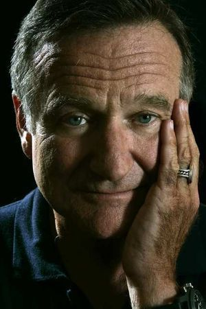 Robin Williams, one of the funniest guys on the planet. Love him to bits!