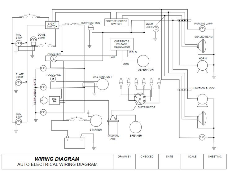 How To Draw Electrical Diagrams And, How To Diagram Electrical Wiring
