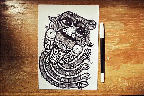 Blog: Tumblr of the Week: Mangun - Doodlers Anonymous