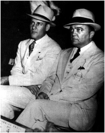 J. Edgar Hoover and Clyde Tolson
