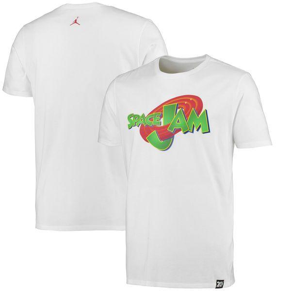 Men's White Air Jordan 11 Space Jam T-Shirt - NBA Store