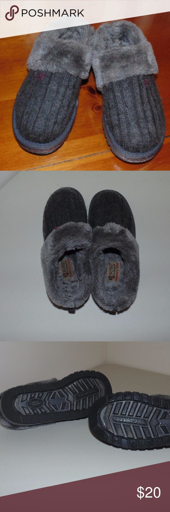 BOB's by Sketchers BOBS slip on from Skechers Excellent Condition Size:12/13 Cozy Fur lined Skechers Shoes Slippers