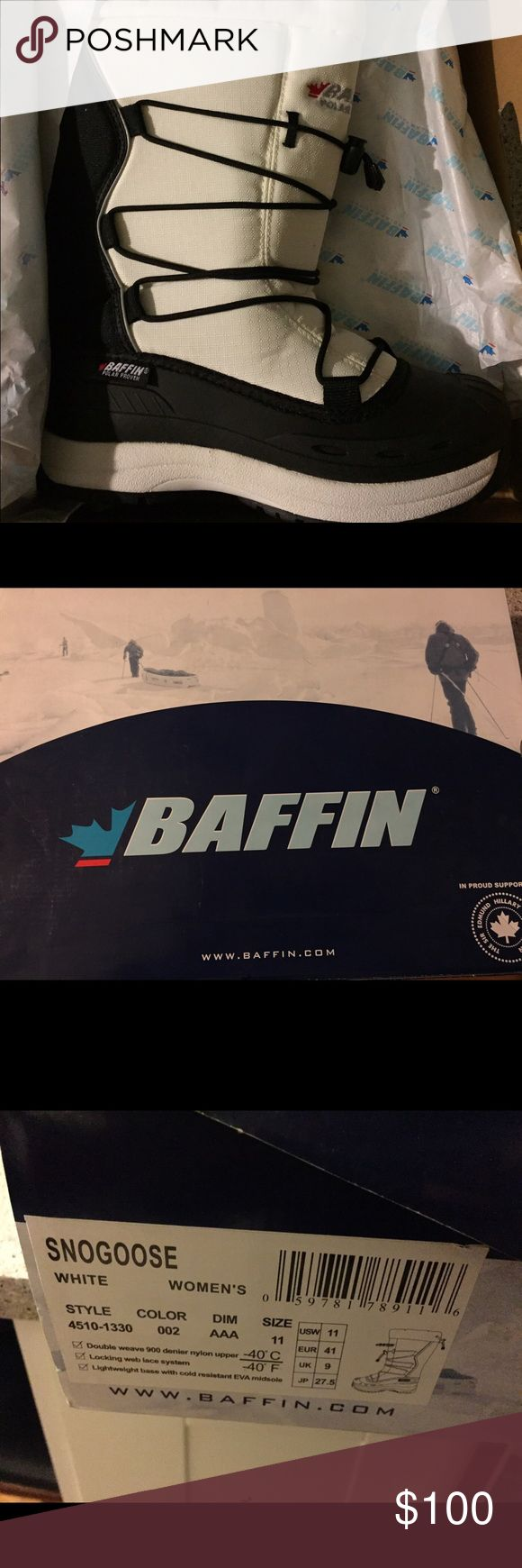 Baffin Snowboarding boots Baffin Snogoose Women's Snowboarding boots.  Size 11.  Brand new, with tags.  Never worn.  Paid $139.95 for same.  Asking $100 OBO. Baffin Shoes Winter & Rain Boots