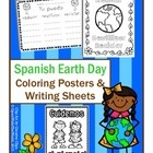 Perfect for Spanish immersion/dual language immersion programs! Decorate your Spanish classroom with Earth Day Coloring Posters. 6 versions for you...