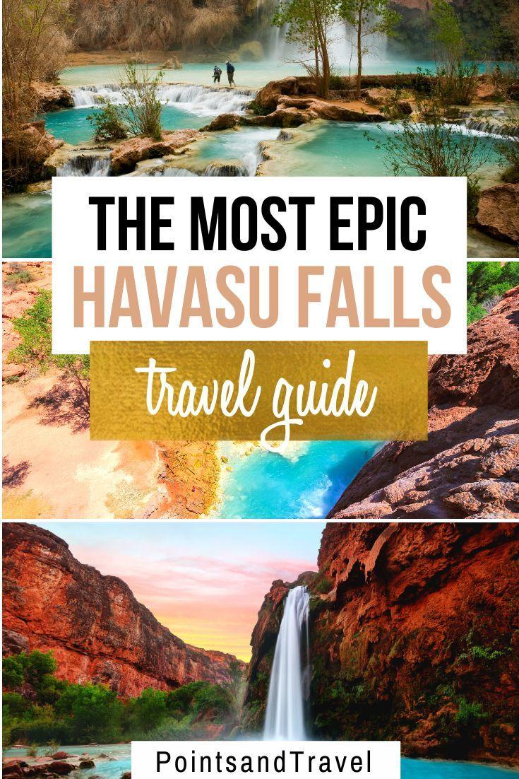 The Ultimate Guide To Havasu Falls Havasu Falls Fall Travel North America Travel Destinations
