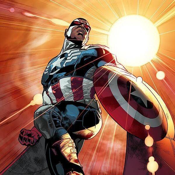 The new Captain America in the Marvel Comics universe will be Sam Wilson, aka The Falcon, Marvel Chief Creative Officer Joe Quesada announced on The Colbert Report late Wednesday. | Marvel Comics' New Captain America Will Be African-American Sam Wilson