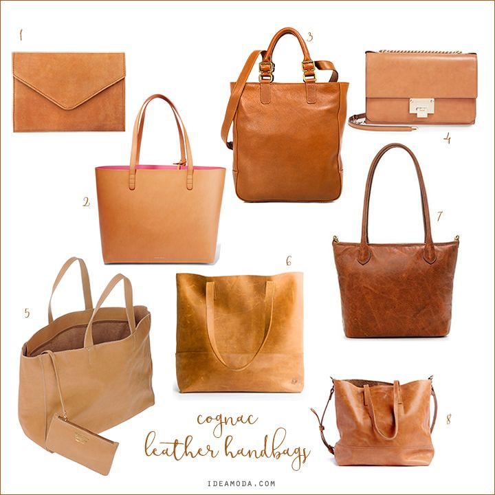 #cognac #leather #handbags #totes #cognacleatherbag