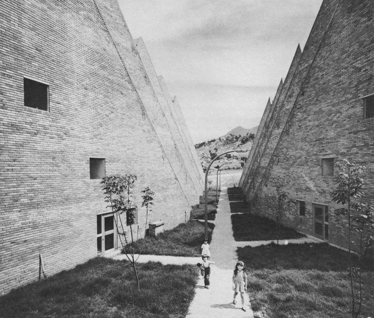 Marulandia Housing Complex, Bogotá, Colombia, 1966 (Rogelio Salmona and Hernan Vieco)