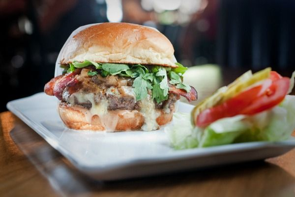 Make A Burger: Thousand Island, Two Cheeses, and Bacon | The Public Kitchen | Food | KCET #recipe